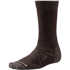 Smartwool PhD Outdoor Medium Crew Sukat, chestnut